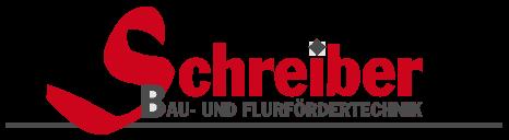 Bau- und Flurfördertechnik_Schreiber Logo